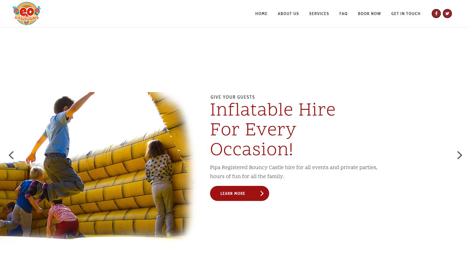 LATEST WORK: E&O Inflatables